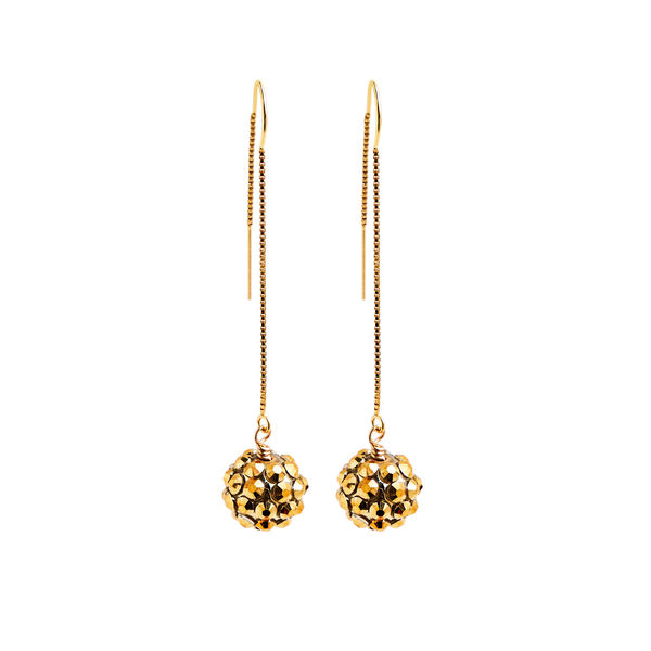 Earrings   pompom   gold   smalljpeg srgb 1600px for web