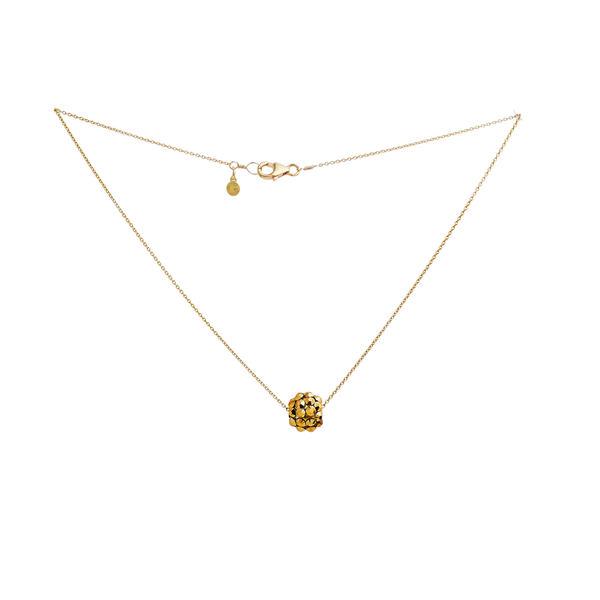 Necklace   pompom   gold   smalljpeg srgb 1600px for web