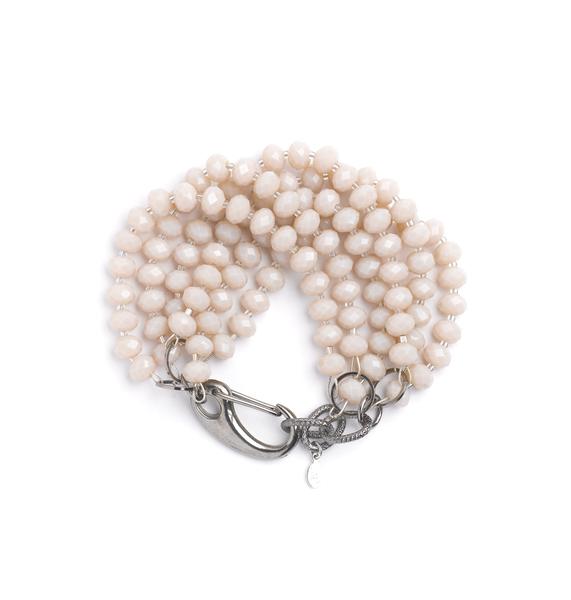 Oatmeal bracelet round fla copy