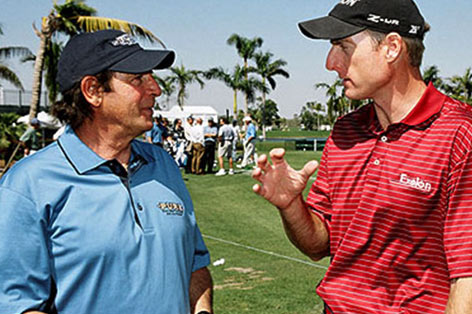 Dick Weiss with Jim Furyk, Photo: SST Pure