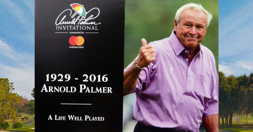 The King Elicits Memories and Emotions as the Arnold Palmer Invitational Week Begins
