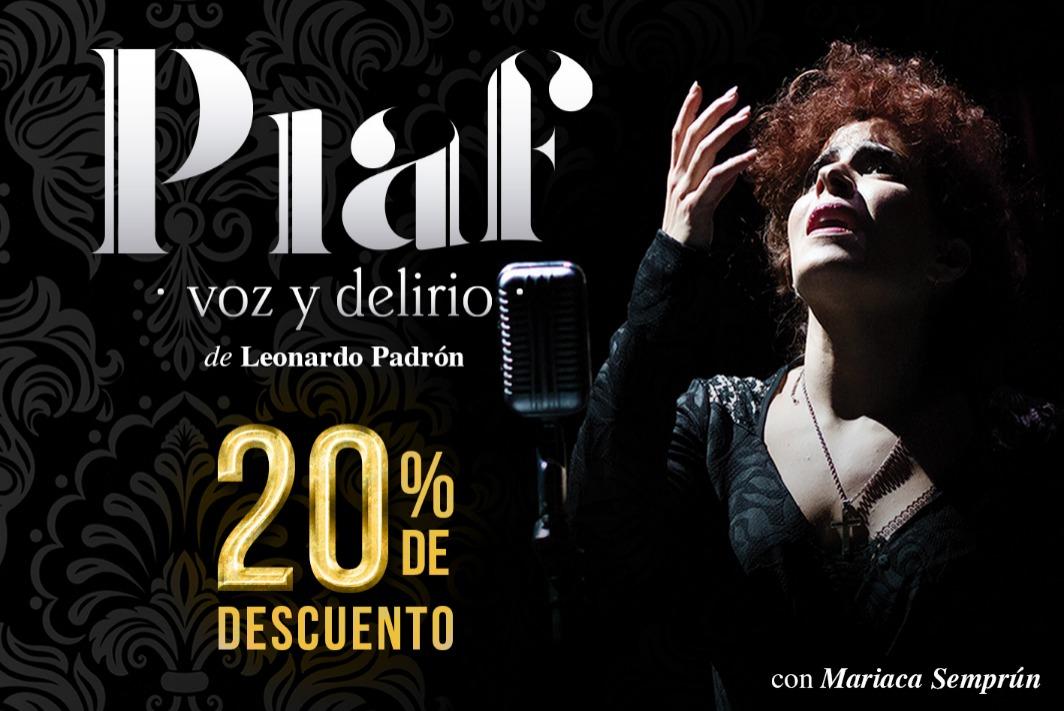 Piaf, voz y delirio CDMX