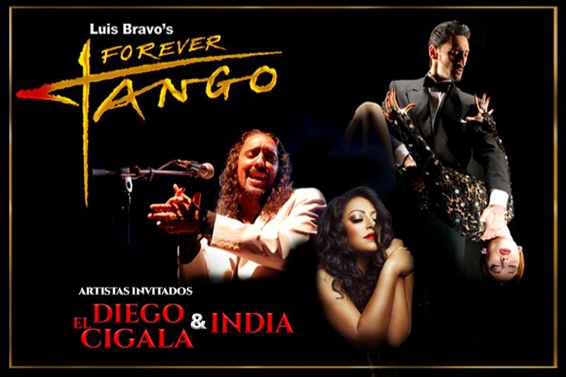 Forever Tango artistas invitados Diego El Cigala e India