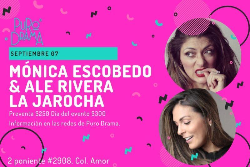 """Mónica Escobedo y  Alejandra Rivera """"La Jarocha"""" Juntas"""