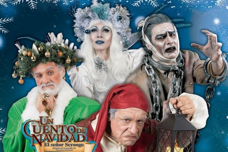 Un cuento de Navidad, el Señor Scrooge en Legaria