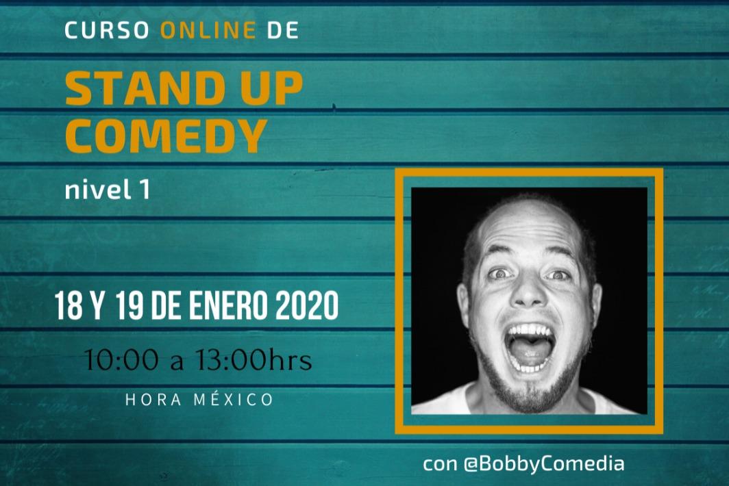 Curso online de Stand Up Comedy - Nivel 01