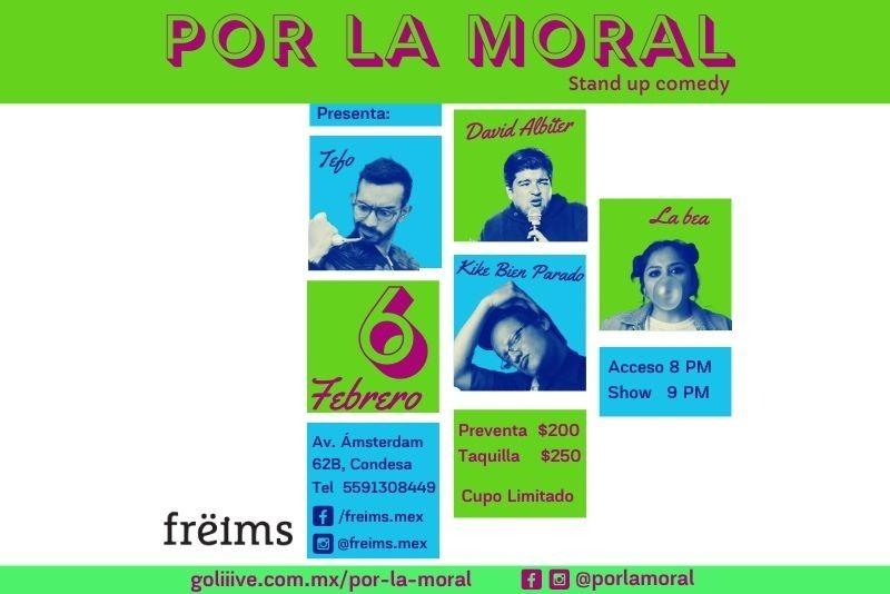 Por la moral