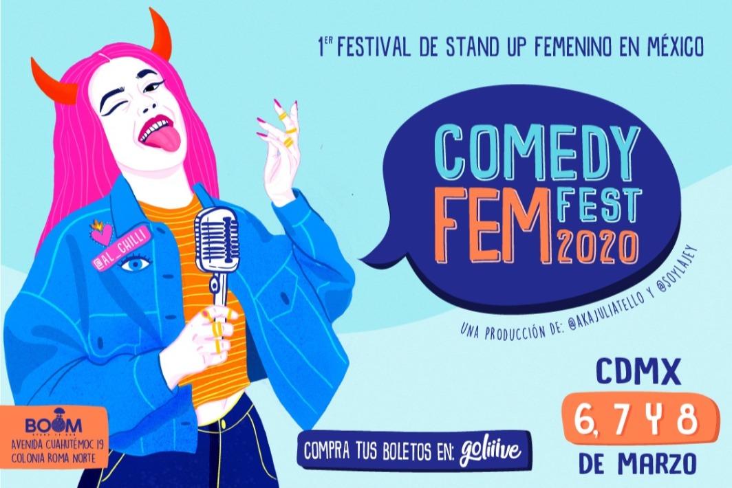 Comedy Fem Fest 2020