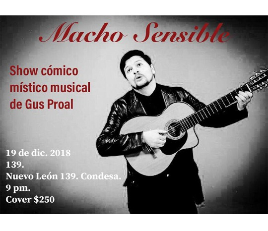 Gus Proal - Macho sensible