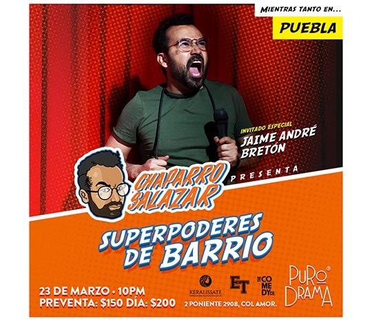 Chaparro Salazar - Puebla