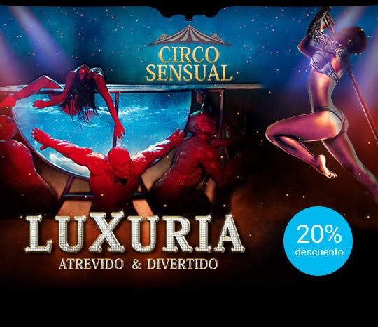 Luxuria - 20% de descuento