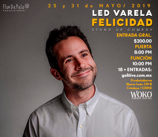 Felicidad, Stand up comedy