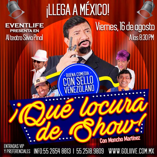 Moncho Martínez en Qué locura de Show