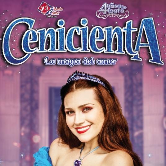 """""""Cenicienta, la magia del amor"""""""