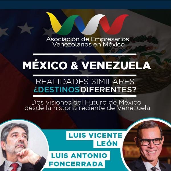México & Venezuela: Realidades similares ¿Destinos diferentes? puerta
