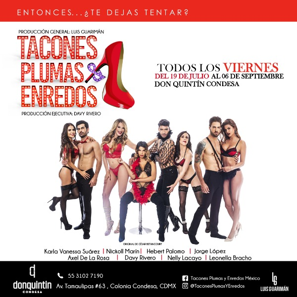 Tacones, Plumas & Enredos