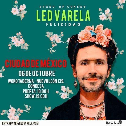 Led Varela presenta Felicidad