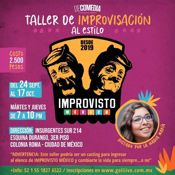 "Taller de improvisación al estilo ""Improvisto"""