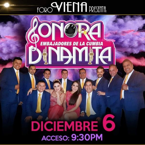 La Sonora Dinamita Embajadores de la cumbia Posada