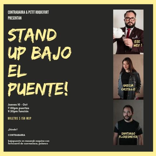 Stand Up Bajo el Puente - 10 de octubre
