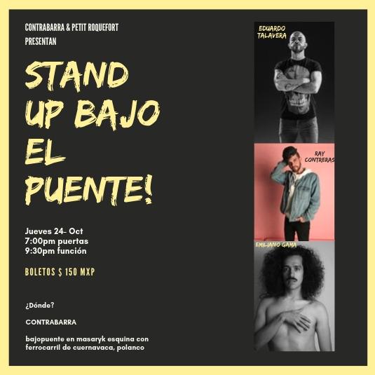 Stand Up Bajo el Puente - 24 de octubre