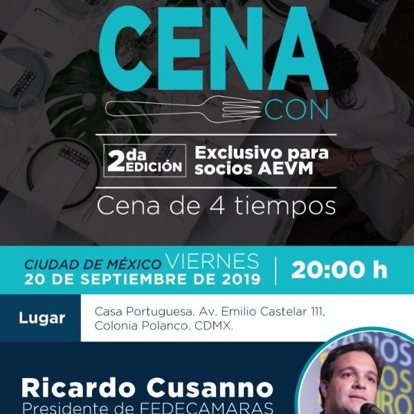 Cena Con: Ricardo Cusanno inv