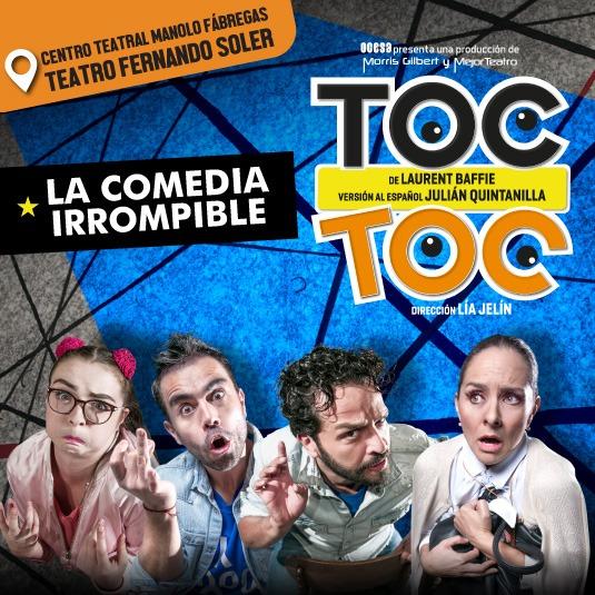 TOC TOC Teatro Fernando Soler