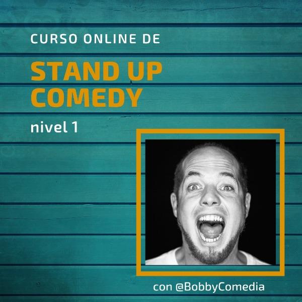 Curso online de Stand Up Comedy - Nivel 01 - 50% (Aprox 40 US$)