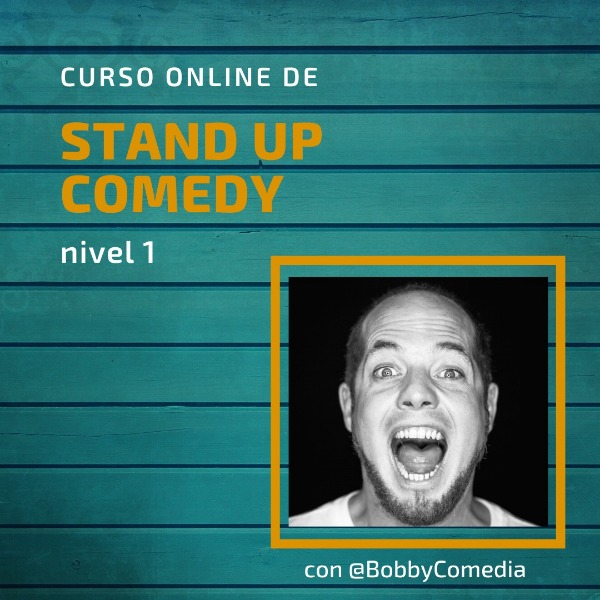 Curso online de Stand Up Comedy - Nivel 01 - Descuento 20% (Aprox 70 US$)