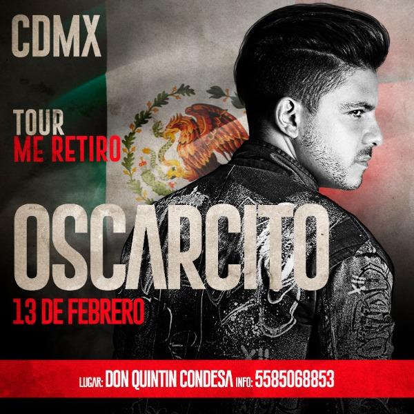 """OSCARCITO """"tour me retiro"""""""