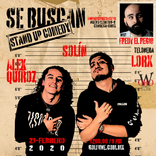 Se Buscan, Stand Up Comedy - Alex Quiroz Y Solín