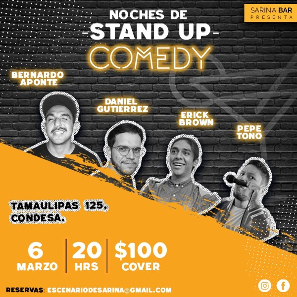 NOCHES DE STAND UP COMEDY