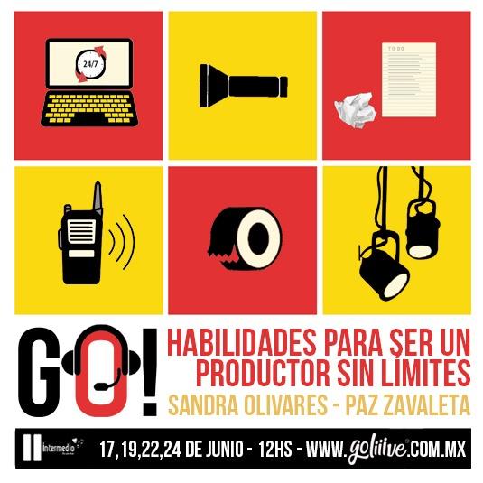 Curso: GO! Habilidades para ser un productor sin límites