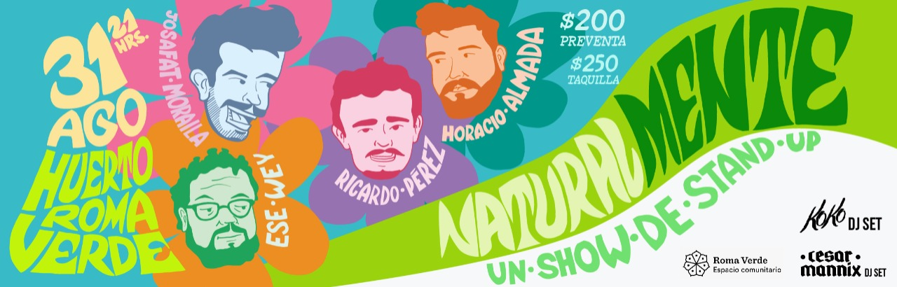 Natural Mente - Stand Up Show