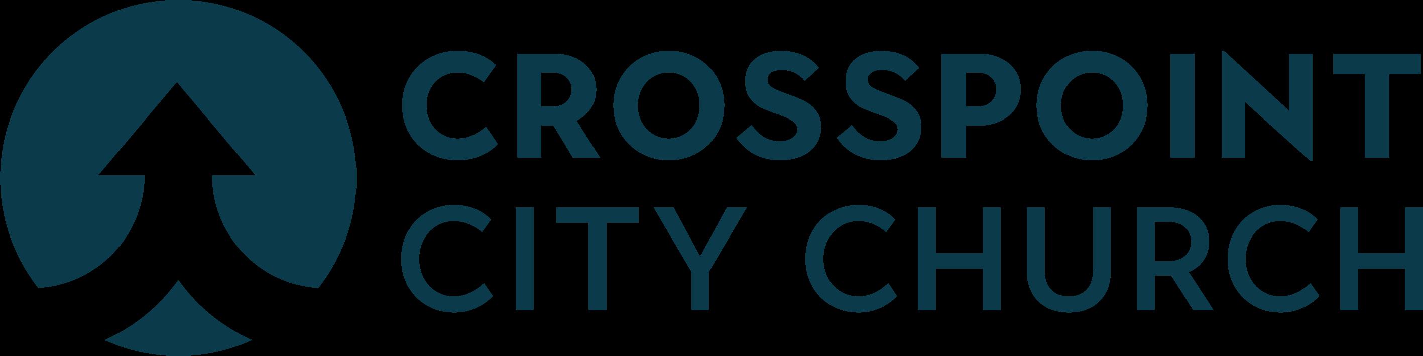 Crosspoint onecolor logo vector dkblue