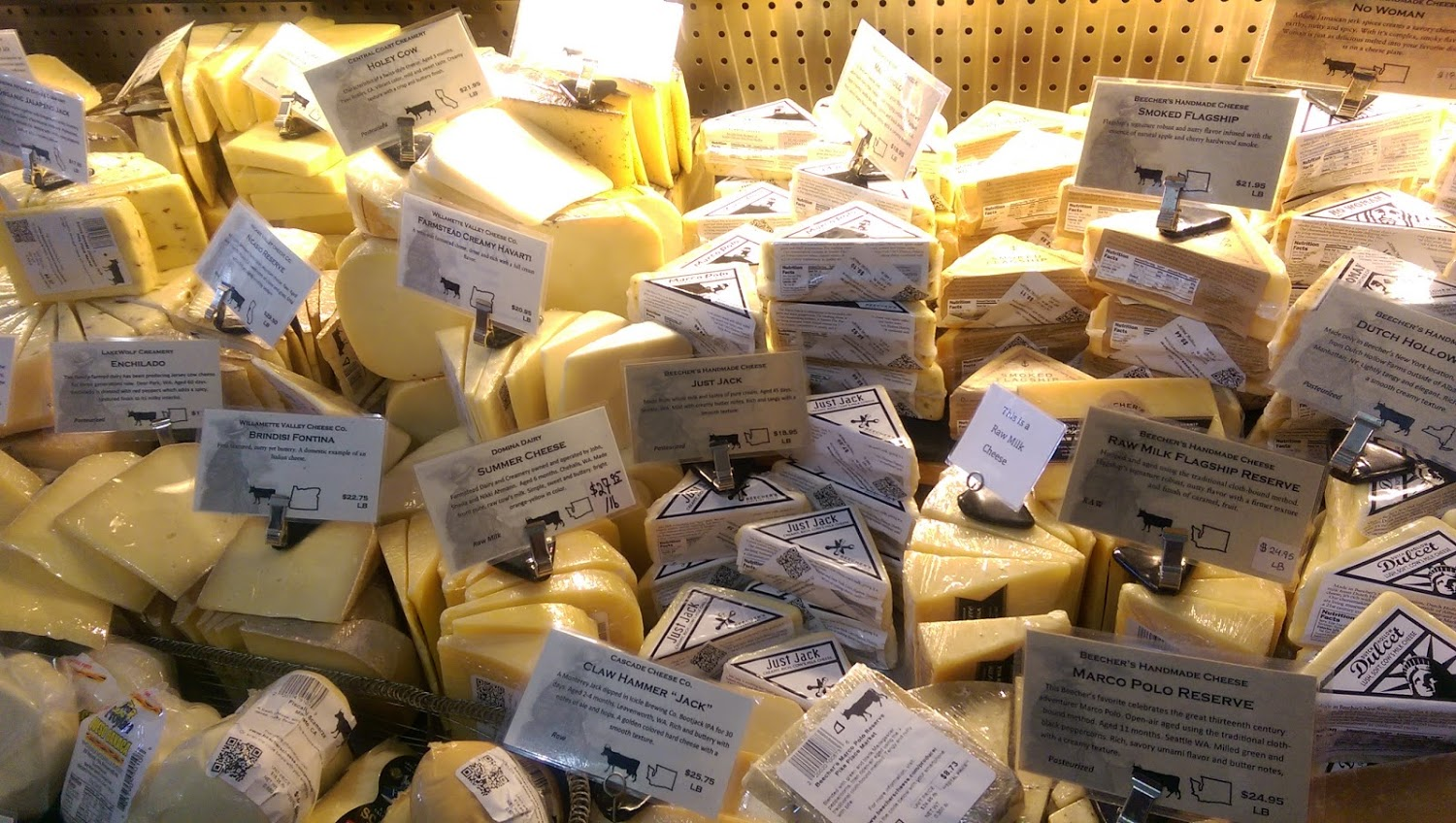 Beecher's Handmade Cheese - Pike Place Market