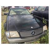 1994 Black Mercedes-benz Sl-class Sl 500 V8, 5.0l