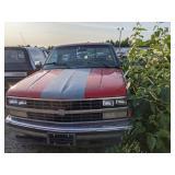 1988 RED/primer Chevrolet C/K 2500 Series C2500 Ch