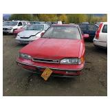1990 Red Acura Legend Ls V6, 2.7l