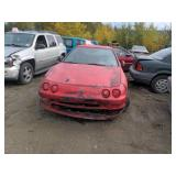 1997 RED Acura Integra RS I4, 1.8L