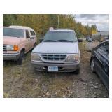 1995 white Ford Explorer Limited V6, 4.0L