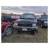 1990 black Toyota 4Runner SR5 V6 V6, 3.0L