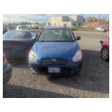 2010 Blue Hyundai Accent Gls I4, 1.6l
