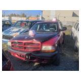 2001 RED Dodge Durango Sport V8, 4.7L
