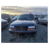 1999 Blue Chevrolet S-10 Ls V6, 4.3l