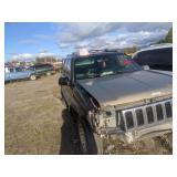 1998 Black Jeep Grand Cherokee Limited V8, 5.2l