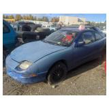 1997 Blue Pontiac Sunfire Se I4, 2.2l