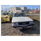 1990 White Audi 100 Base I5, 2.3l