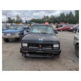 1992 Black Oldsmobile Bravada Base V6, 4.3l