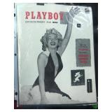 PLAYBOY FIRST ISSUE WITH MARILYN MONROE